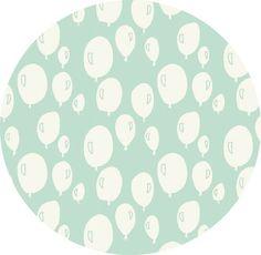 Trixie Baby Babybett Spannbettlaken 60x120 cm Balloon Mint