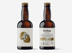 Packaging design by Spanish based studio Moruba for Dolina Craft beer.