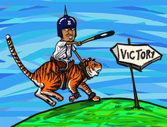 Terrible Cartoons from a Not-Terrible Weekend | Roar of the Tigers