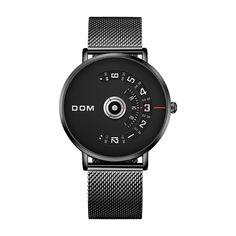 Quartz watch Casual steel Mesh strap //Price: $29.67 & FREE Shipping // #glam #skirt #girly