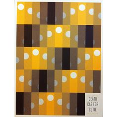 Death Cab for Cutie Official Store - Sun Patterns Poster - Posters