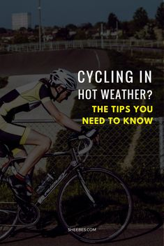 Cycling in hot weather can give you a performance boost. But there are a few tips you need to know before cycling in hot weather. Mountain Bike Accessories, Mountain Bike Shoes, Cool Bike Accessories, Mountain Biking, Cycling Tips, Road Cycling, Cycling Workout, Bike Workouts, Swimming Workouts