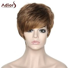 Women's Shaggy Adiors Side Bang Synthetic Boy Cut Wig #>=#>=#>=#>=#> Click on the pin to check out discount price, color, size, shipping, etc. Save and like it!