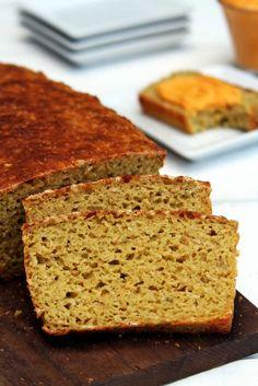 Pão de batata doce fit com farinha de arroz sem glúten e sem lactose