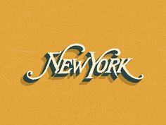 More magnificent type & lettering designs | From up North