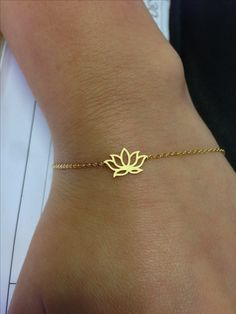 Must have tattoo of the lotus flower! Just like this bracelet