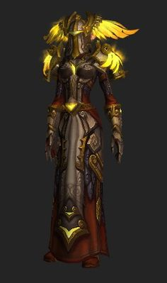 Winged Triumph Plate - Transmog Set - World of Warcraft & Pyrium Battlegear (Recolor) is a transmog set containing 24 items ...