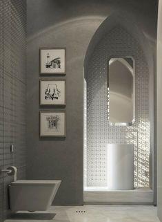 orientalische ornamente arkaden toilette