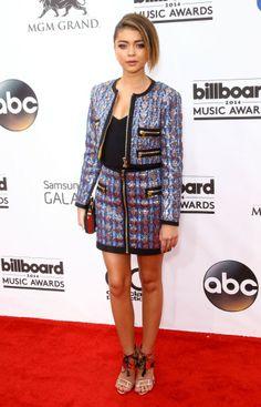 Sarah Hyland in Emilio Pucci   Billboard Music Awards 2014
