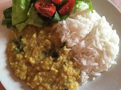 Lencse dahl 8db Dahl, Risotto, Chili, Curry, Ethnic Recipes, Food, Turmeric, Curries, Chile