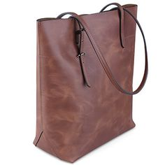 Jack&Chris®Perfect Ladies' Genuine Leather Tote Bag Handbag Shoulder Bag,YSZ112 (Brown) Jack&Chris http://smile.amazon.com/dp/B00YOS686O/ref=cm_sw_r_pi_dp_R2xfxb1BP4XRE