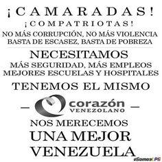 Nos merecemos una mejor #Venezuela. #LPG #SOSVenezuela #PrayForVenezuela #ResistenciaVzla