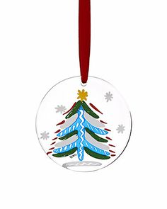 Some of you have to get in on this: Kosta Boda Christmas Tree Ornament