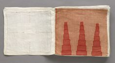 Louise Bourgeois book of textiles