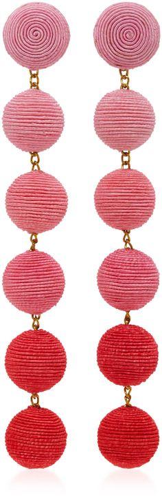 Rebecca de Ravenel Six Drop Ombre Earrings: http://fave.co/2pBZ8me
