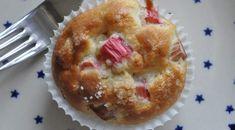 Nemme smukke rabarbermuffins med marcipan | NOGET I OVNEN HOS BAGENØRDEN