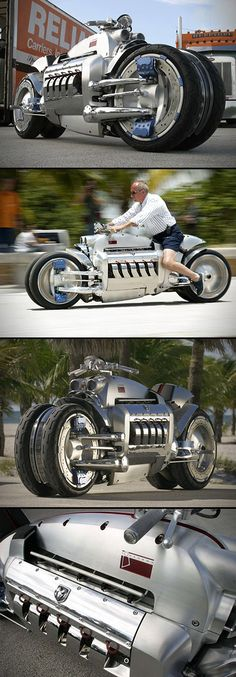 Another Look at the Dodge Tomahawk, the World's Fastest Motorcycle - TechEBlog