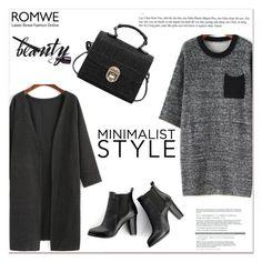 """ROMWE V/7"" by amra-mak ❤ liked on Polyvore featuring SWEET MANGO, women's clothing, women's fashion, women, female, woman, misses, juniors and romwe"