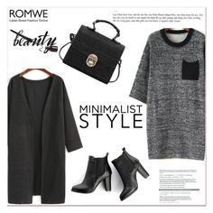 """ROMWE V/7"" by amra-mak ❤ liked on Polyvore featuring SWEET MANGO and romwe"