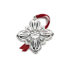 Gorham 2016 Annual Cross Ornament (3rd Edition) STERLING