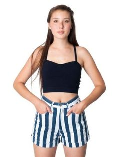 Best Price American Apparel Printed Stretch Bull Denim High-Waist Cuff Short -White Navy Wide Stripe Large selection at low prices - http://bestcomparemarket.com/best-price-american-apparel-printed-stretch-bull-denim-high-waist-cuff-short-white-navy-wide-stripe-large-selection-at-low-prices