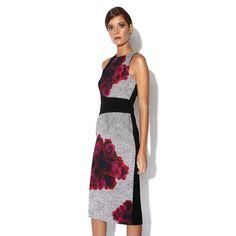 Nicola Finetti | Curved Seam Dress | Enzyme Black by Nicola Finetti on Brands Exclusive