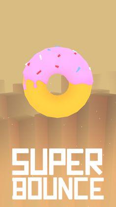 Donut   Super Bounce #gamedev #unity #games