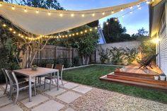 Vegetable garden/ backyard transformation contemporary-patio