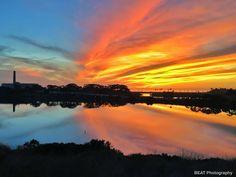 #carlsbad  #sunset #magical #amazing #sandiego #carlsbadlagoon #cloudsandsky #iphoneography #beatphotography22 by beatphotography22