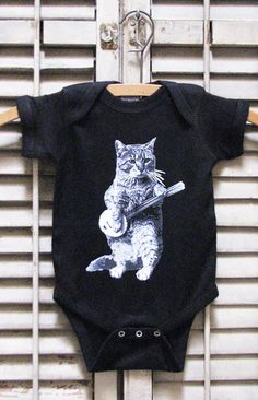 f280be9a7 cat baby clothes - baby gift - cat one piece - cat baby - cat shirt