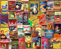 Vintage Tins (1000 Piece Puzzle by White Mountain)