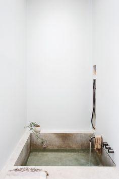 Michael Scherrer Bath by Matthew Williams for Remodelista