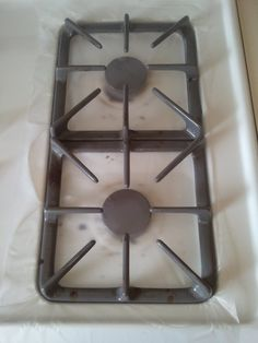 You've all undoubtedly seen the tutorial about cleaning your stove grates with ammonia. If not, check out this fantastic link: Cleaning Stov...