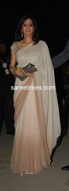Sridevi. And I want that sari.