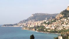view of monaco from france. (monaco) #travelcolorfully