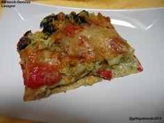 Gemüse-Bärlauch Lasagne