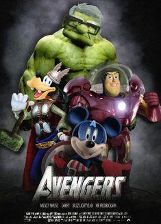avengers (disney marvel hybrid) by ~lavrennom on deviantART