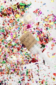 Thimblepress Colorful Push Pop Confetti from Urban Outfitters. Shop more products from Urban Outfitters on Wanelo. It's Your Birthday, Girl Birthday, Birthday Parties, Push Pop Confetti, Push Up Pops, Celebrate Good Times, A Little Party, Party Scene, Holiday Gifts
