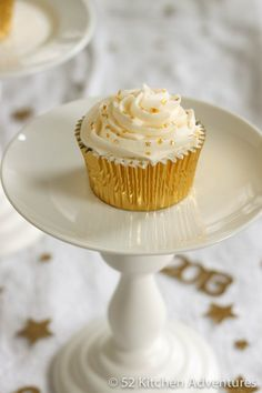 Champagne Cupcakes | 52 Kitchen Adventures