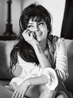 Priyanka Chopra for the Guess Holiday 2013 Ad Campaign
