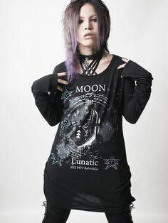 picture of SEX POT ReVeNGe Lunatic Moon Long Tee 1