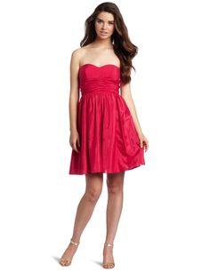Jessica Simpson Women's Bright Rose Strapless Dress « Clothing Impulse