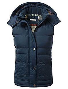 J.TOMSON Women's Padded Puffer Vest w…