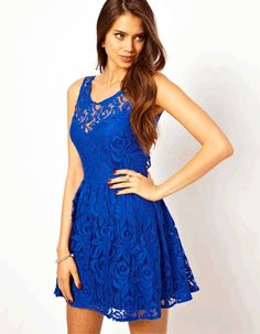 """Girls look Royal in Blue"" 