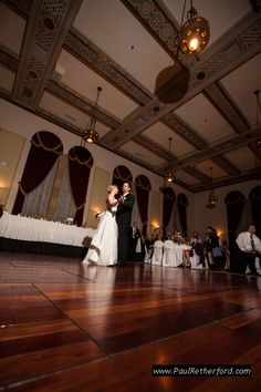 first dance inn at st johns wedding reception photo in plymouth michigan by http://www.paulretherford.com