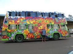 Double decker hippie bus- Winning!