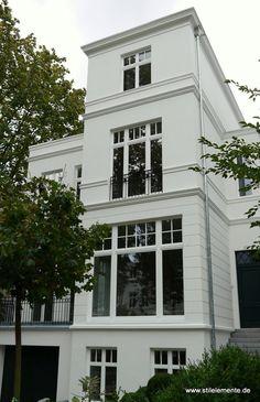 Neubau in Hamburg im klassizistischen Baustil. #Haus #House