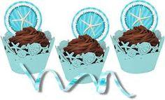 beach candy buffet muffins