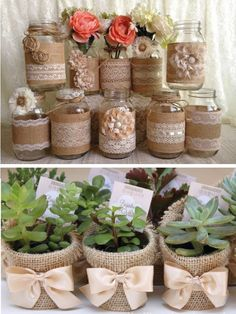 Mini organizer project for your desk – Page 726979564823473655 – BuzzTMZ « Decor Diy Best Tin Can Crafts, Easy Crafts, Mason Jar Crafts, Bottle Crafts, Burlap Silverware Holder, Jute Crafts, Decorated Jars, Decoration Table, Diy Wall Decor