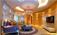 Top 20 Suspended ceiling tiles, lighting pop designs for living room 2015 part 2